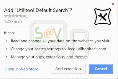 Utilitool Default Search (Extensión)