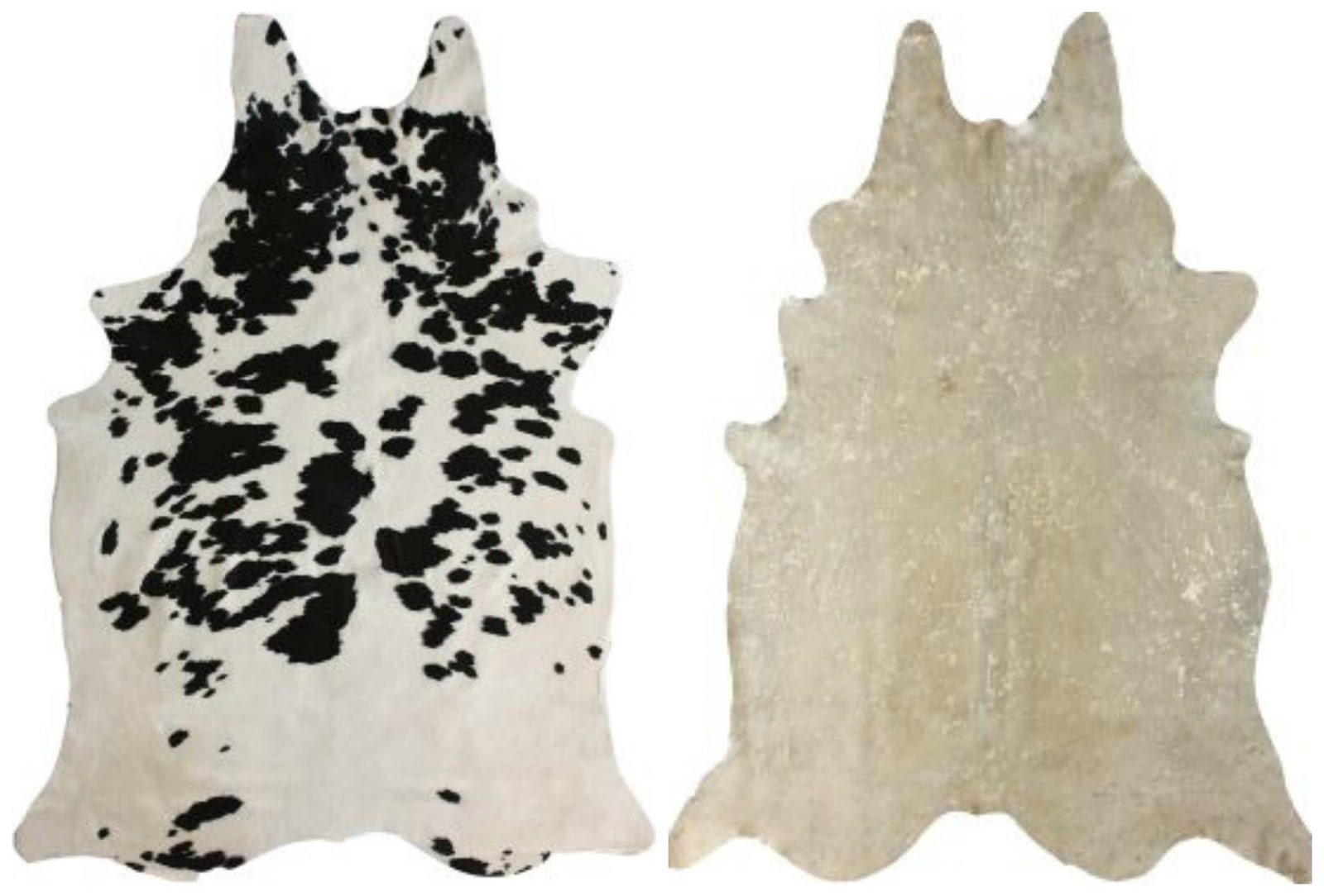cowhides layered over natural fiber rugs driven by decor - Cow Hide Rug