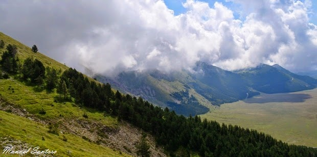 Salendo verso il Monte Tremoggia