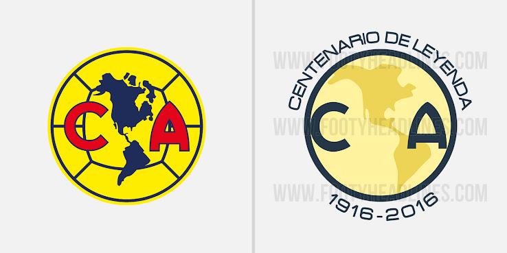 best club américa centenary logo leaked