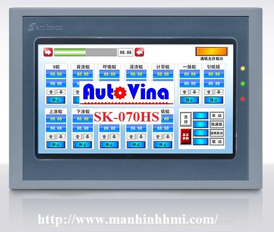Đại lý phân phối màn hình cảm ứng HMI Samkoon 7 inch SK-070HS, SK-070BS