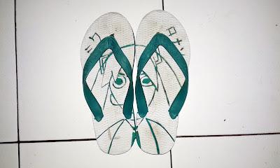 Membuat Sandal Jepit Ukir - nggoneronan.com