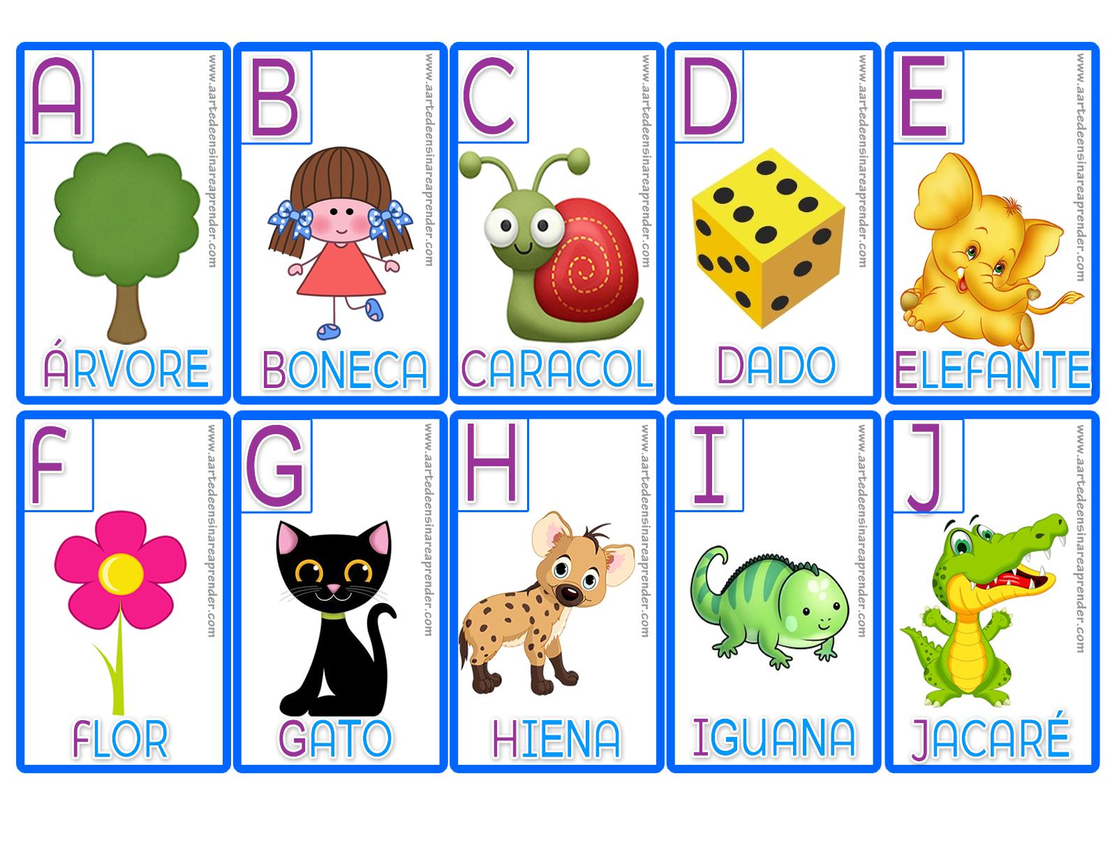 Jogo Da Memoria Alfabeto A Arte De Ensinar E Aprender
