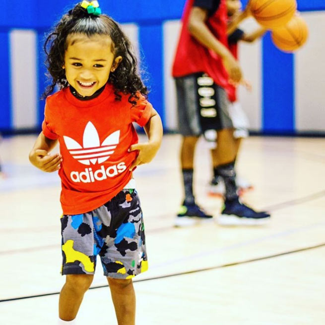 Aww! Chris Brown's cute daughter, Royalty Brown