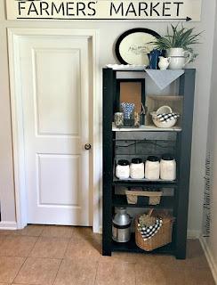 Vintage Paint and more... DIY Kitchen Shelf Makeover