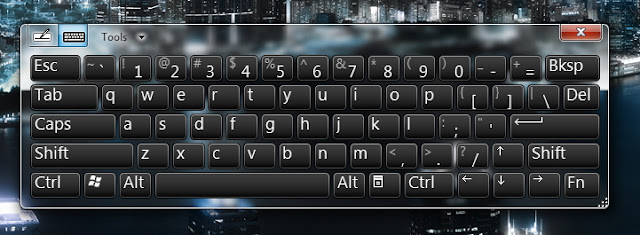 Cara Menampilkan On-Screen Keyboard pada Windows