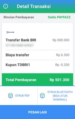 Cara Cetak Struk Transaksi Payfazz