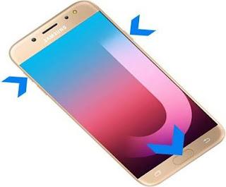 Cara Hard Reset Samsung Galaxy J7 Pro