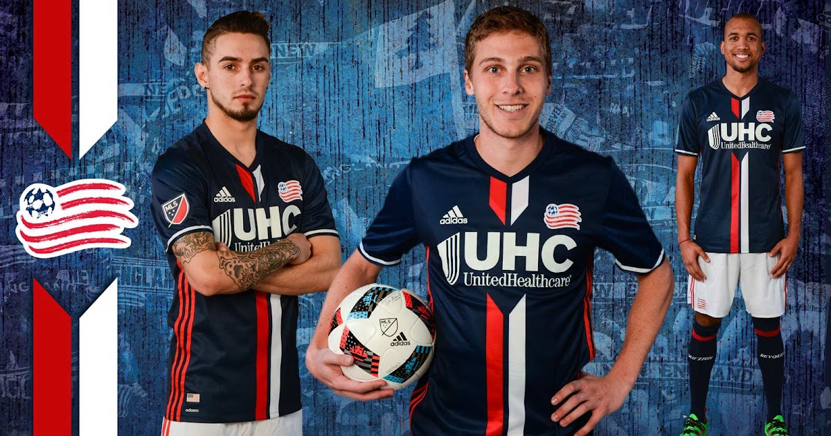 New England Revolution 2016 Home Kit Released Footy