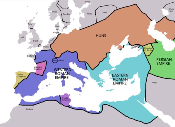 11 Maddede Avrupa Hun Devleti