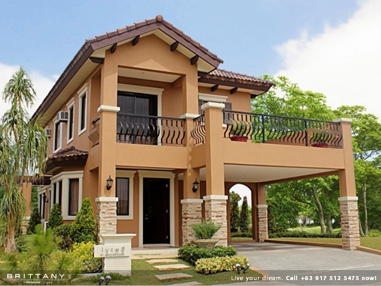 Lorenzo Model - Amore Portofino Luxury House for Sale in Exclusive Gated Community - Daang Reyna Las Pinas