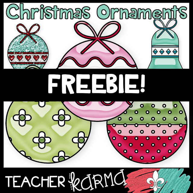 free christmas ornaments teacherkarma.com
