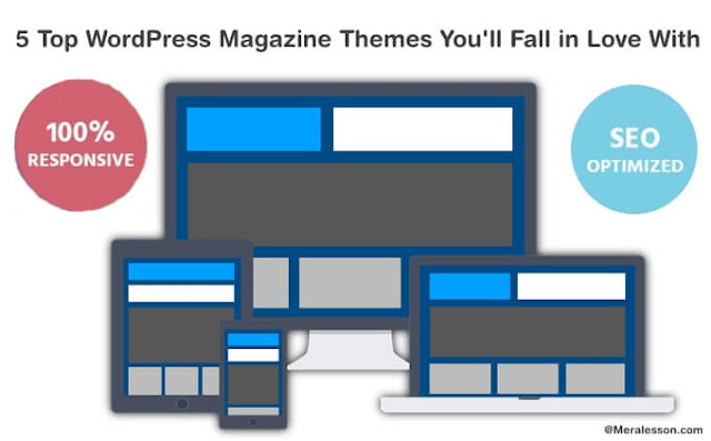 Magazine themes for WordPress of 2016