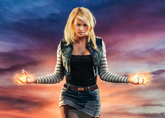 DBZ Android 18 Cosplay