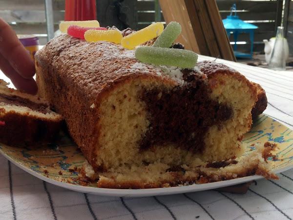 Recette des soirées préssées : LE gâteau surprise !