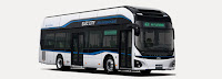 Hyundai's Unveils First Mass-Produced Electric Bus Elec City