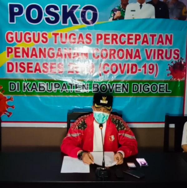 Chaerul Anwar Ungkap Tambahan 5 Kasus Positif COVID-19 di Boven Digoel