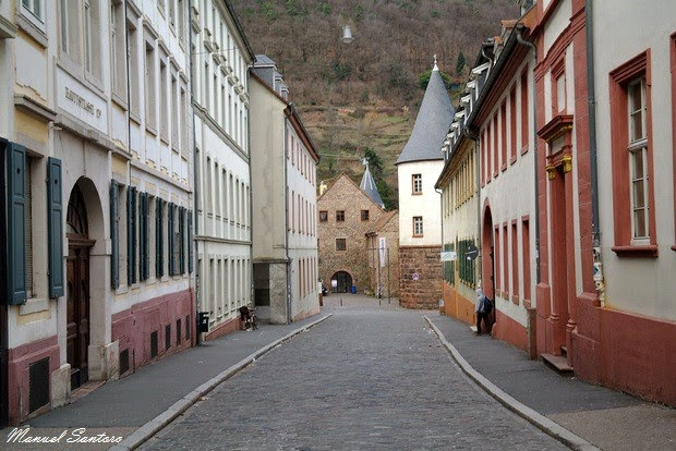 Heidelberg, via caratteristica