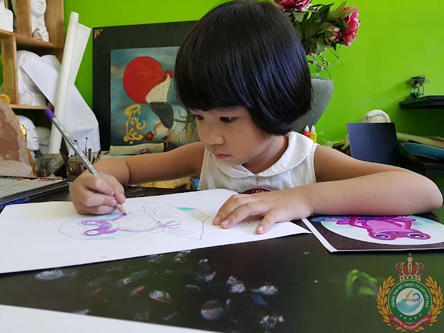 Học vẽ cho trẻ em tại quận 9 tp HCM