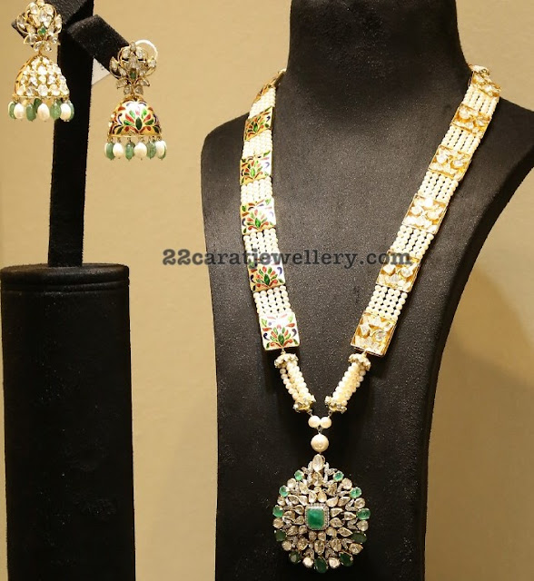 Meena Work Pearls Long Chain