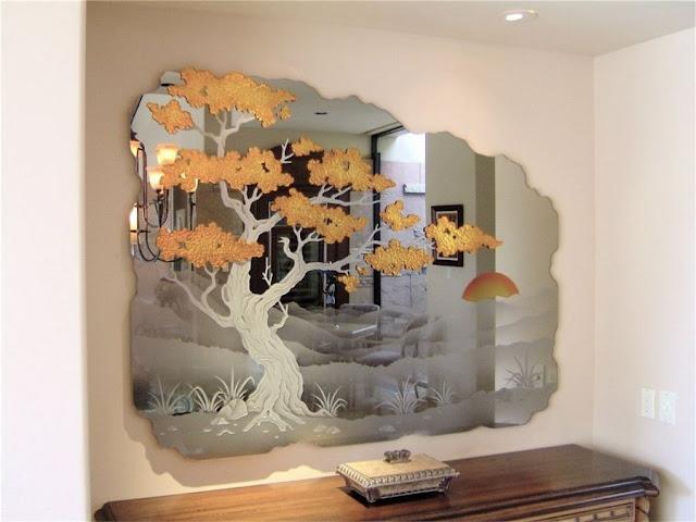 Как разрезать стекло и нанести рисунок