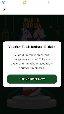 Voucher Gratis dari Aplikasi Mucho Android