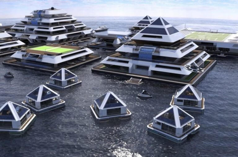 Incredible Pictures Of Self-Sufficient, Solar Powered Pyramid-Shaped Buildings