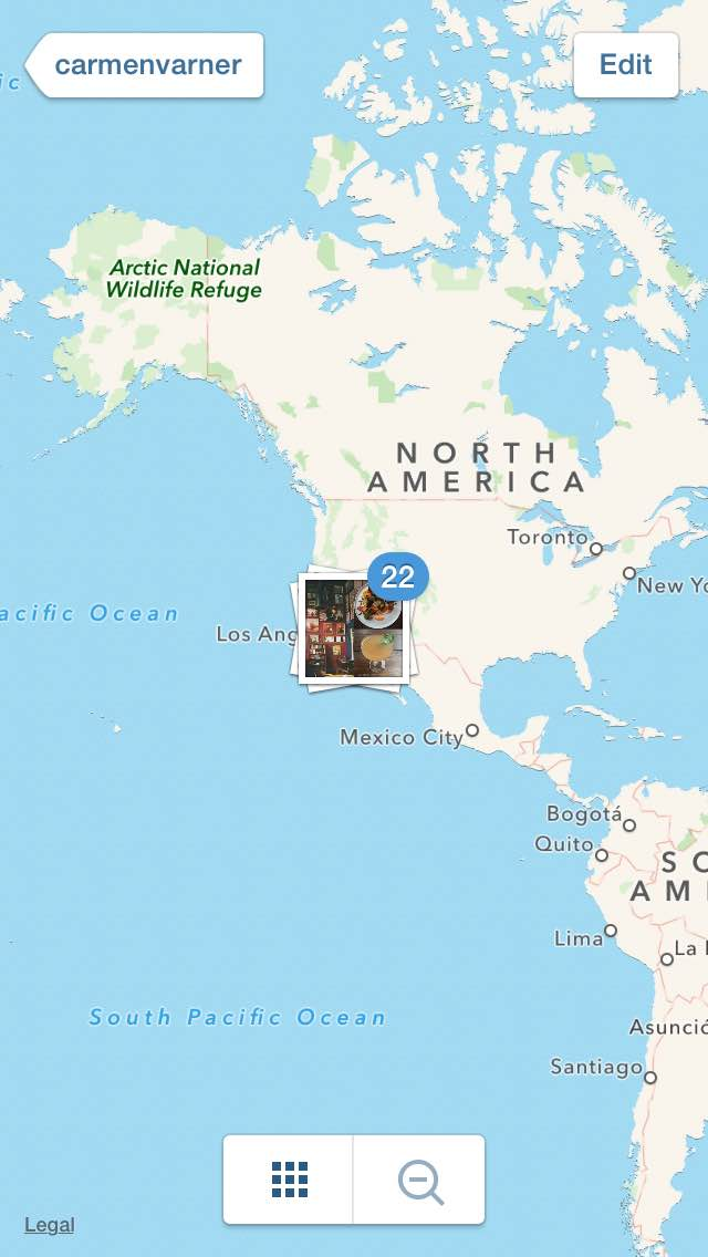instagram mapping