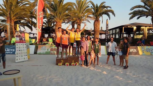Beach Volley: Από την Κρήτη οι πρωταθλητές Ελλάδος Κ22