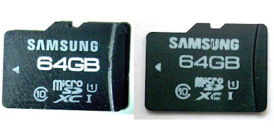 microSD asli vs palsu