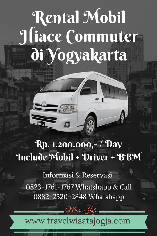 Rental Hiace Commuter di Jogja