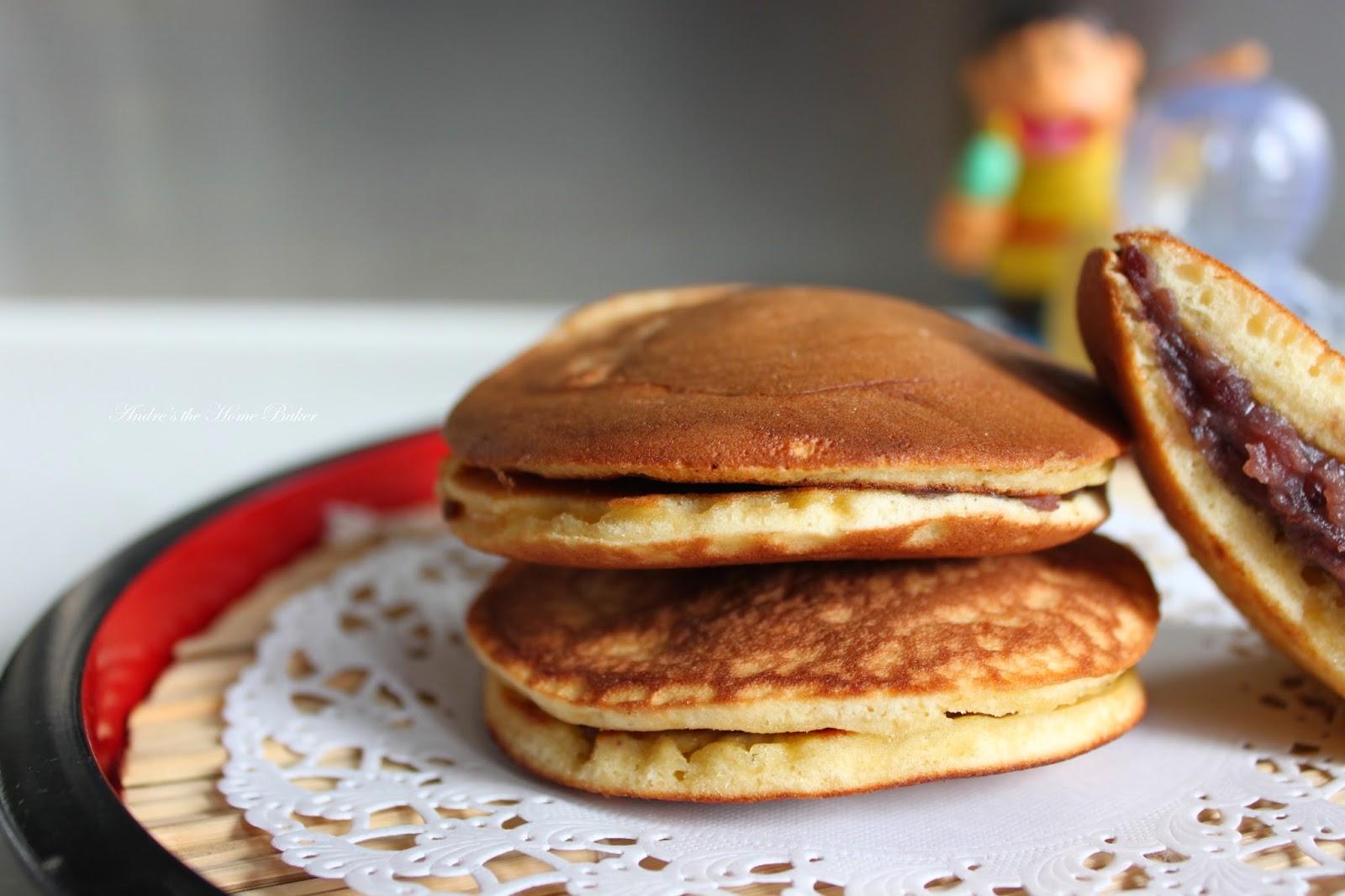 Japanese Dora Cake Recipe: Andre's The Home Baker: ♥ Dorayaki