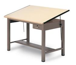 Ranger Wood Drafting Table