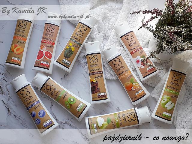 Kontigo żel pod prysznic Biolove promocja -50% Nacomi naturalne brownie z pomarańczą