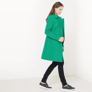 cappotto in colore verde