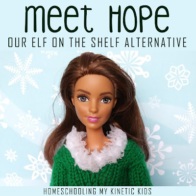Meet Hope- Our Elf on the Shelf Alternative // In Our Pond // elf on the shelf // Christmas // buddy the elf