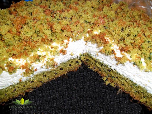 Ciasto zielony mech
