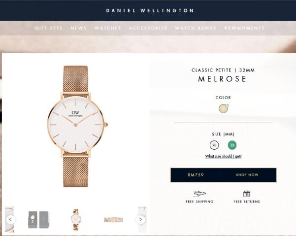 Jam Tangan Daniel Wellington