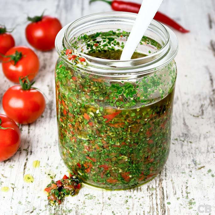 Chimichurri, een verrukkelijke Argentijnse salsa
