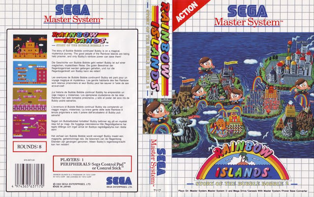 RAINBOW ISLANDS (SEGA MASTER SYSTEM)