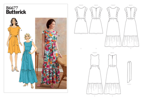 Dressmaking Debacles: New Patterns