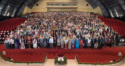 Участники Международного съезда бахаи в Хайфе