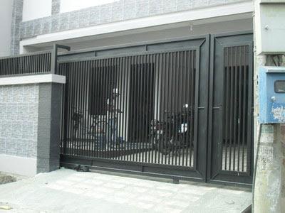 Minimalist Design Iron Fence Houses  FREE DESIGN NEWS