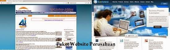 Paket Website Perusahaan, Jasa Website Perusahaan