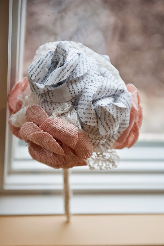 Why chose handmade fabric or paper flowers for your wedding?
