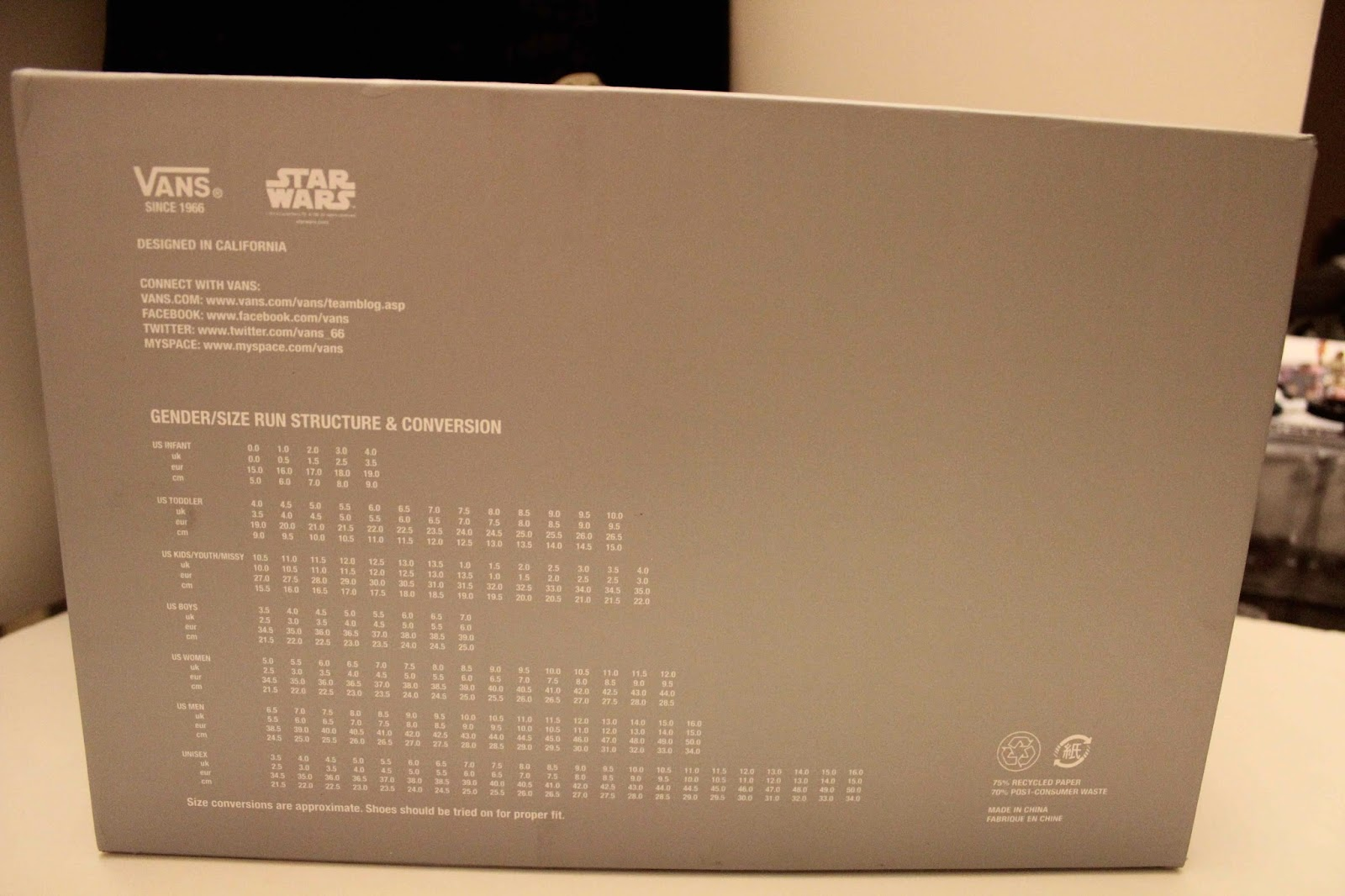 3982503503f132 Angry Koala Gear  Vault by Vans x Star Wars Shoes Have Arrived and ...
