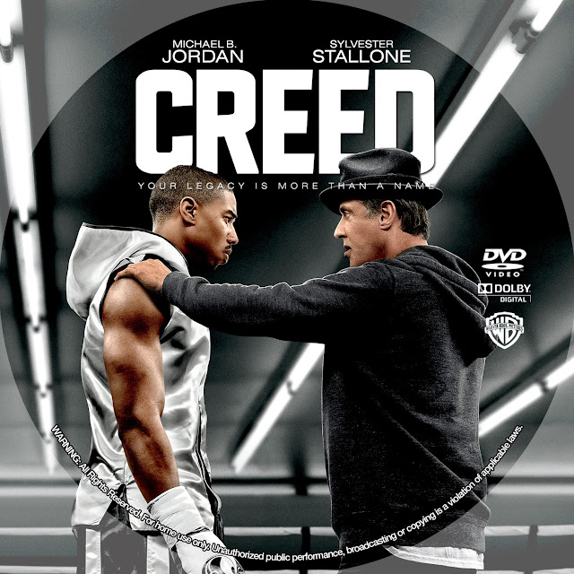 Creed DVD Label