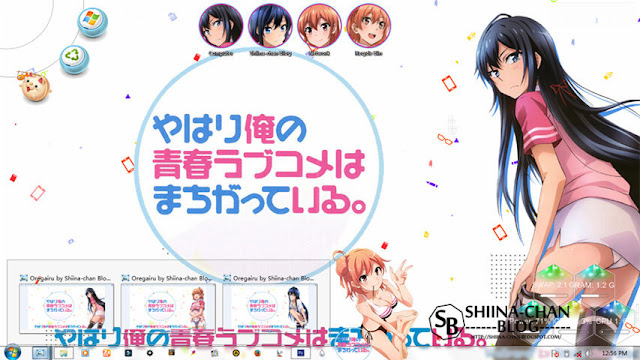Oregairu Theme Win 7 by Enji Riz Lazuardi