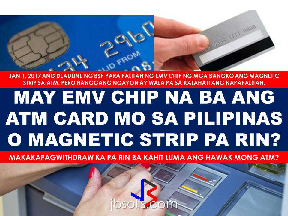 Atm magnetic strip