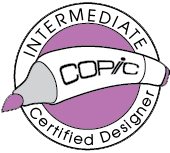 Intermediate Copic Certified Designer